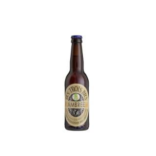 Bière ambrée bio. La bouteille de 33 cl 714704