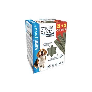 Dental sticks medium. La boîte de 21+3 715308