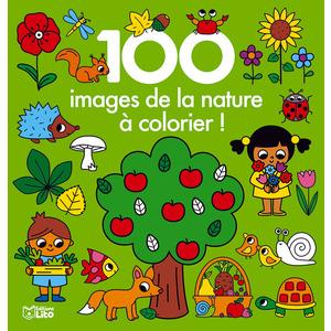 100 images de la nature à colorier ! Editions Lito 715335