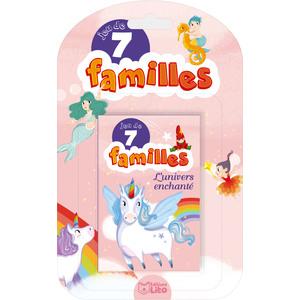 Jeux de 7 familles - Le monde enchanté. Editions Lito 715337