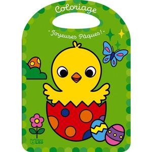 Mon coloriage féérique Joyeuses pâques ! Editions Lito 715356