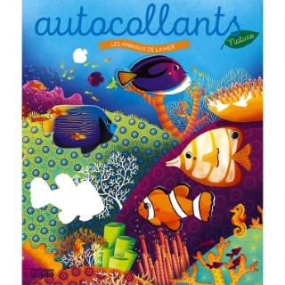 Les autocollants nature - Les animaux de la mer. Editions Lito 715357