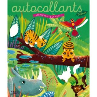 Les autocollants nature - Les animaux de la jungle. Editions Lito 715358
