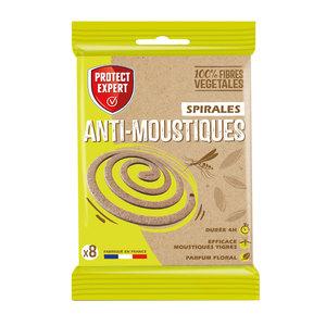 Spirales anti-moustiques x8 715431