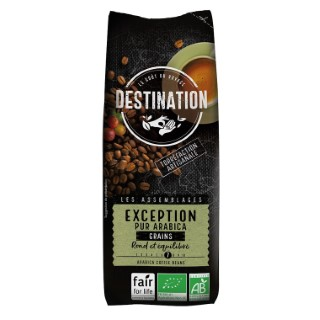 Café Exception pur arabica bio FFL en grains 250g 715809