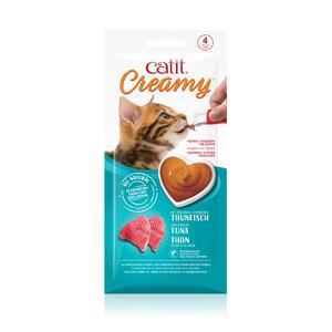 Régals creamy thon Catit pour chat x 4 716006