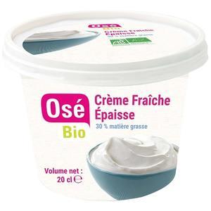 Crème fraîche 30% MG 20 cl 716009