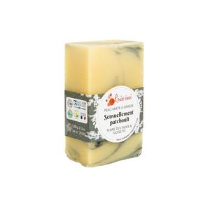 """Savon solide """"Sensuellement patchouli"""" huile de noisette et patchouli - 100g 716032"""