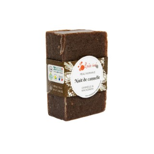 """Savon solide """"Nuit de cannelle"""" huile de macadamia et cannelle - 100g 716033"""