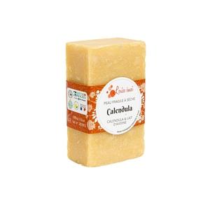 "Savon solide ""Calendula"" huile d'amande douce et calendula - 100g 716034"