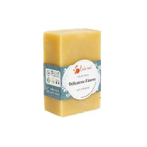 """Savon solide """"Délicatesse d'ânesse"""" huile de macadamia et lait d'ânesse - 100g 716039"""