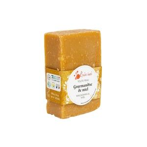 "Savon solide ""Gourmandise de miel"" huile de macadamia et miel - 100g 716040"