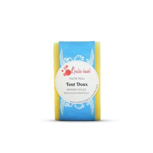 """Savon solide """"Tout doux"""" huile d'amande douce sans huile essentielle - 100g 716042"""