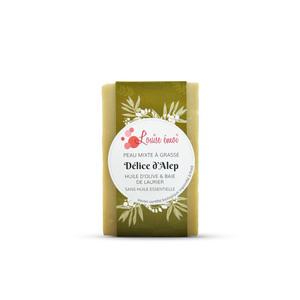 """Savon solide """"Délice d'Alep"""" huile d'olive et baies de laurier - 100g 716045"""