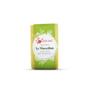 """Savon solide """"Le Marseillais"""" huile d'olive sans huile essentielle - 100g 716049"""