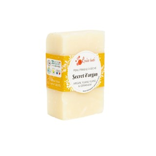 Savon solide Secret d'argan 100g Louise Émoi 716050