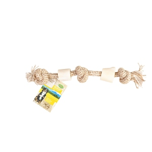 Os blanc avec corde 35 cm 716171
