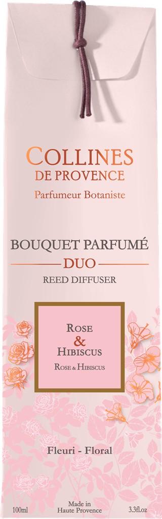 Bouquet parfumé rose hibiscus100ml 716254