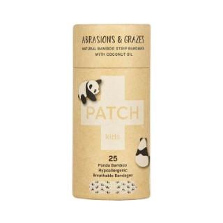 Pansements naturels pour enfant en bambou et à l'huile de coco - 25 pièces 716297