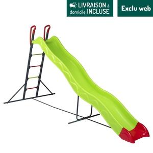 Toboggan Ezar vert 332 cm de glisse 373x148x186 cm 716410