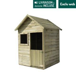Maisonnette en bois Emy 102,4x102,4x156 cm 716411