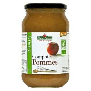 Compote Pommes pot en verre 935 g 716721