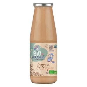 Soupe de châtaignes bio. La bouteille de 66 cl 717431