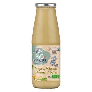 Soupe de poireaux pommes de terre bio. La bouteille de 66 cl 717432