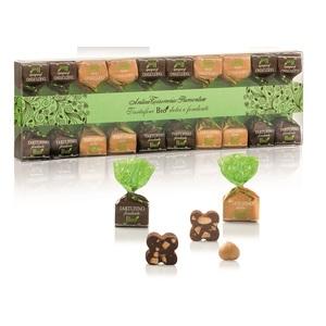 Assortiment de truffes fondantes chocolat noir et lait bio - 140 g 717479