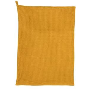 Torchon coloris tournesol en coton Na Uni Mumba – 50 x 70 cm 722804