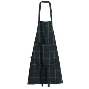 Tablier de cuisine coloris noir en coton recyclé Doha Winkler – 80 x 85 cm 723056