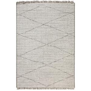 Tapis coloris neige en polypropylène Tweed Vivaraise – 120 x 170 cm 723063