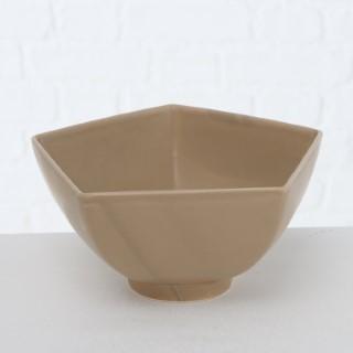 Coupelle calma beige taille 1 en céramique Ø12x6,5 cm 723756