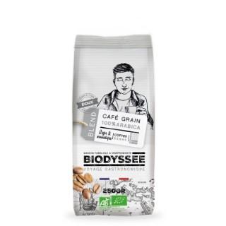 Café en grain bio 100% arabica doux - 250 g 727059