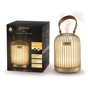 Diffuseur de parfum édition lampion jaune 19x13 cm 734905