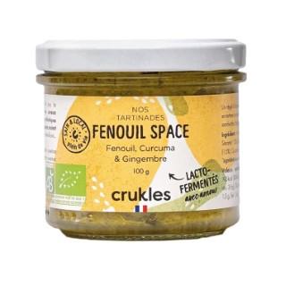 Tartinade Fenouil Space de légumes lacto-fermentés Crukels - 100 g 738686