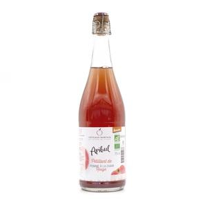 Jus de Pommes Chair Rouge Bio Petillant bouteille de 75 cl 738856