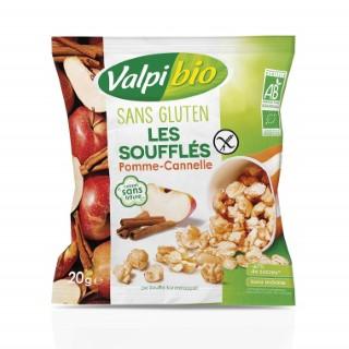 Les Soufflés Pomme-cannelle bio sachet 20g 739403