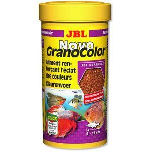 Alimentation pour poissons JBL Novo Granocolor en boite de 250 ml 77716