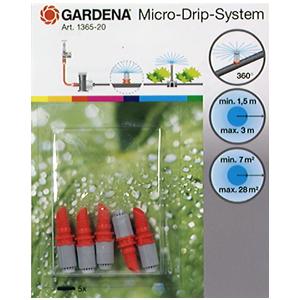 Micro asperseur micro drip 360° x5 781485