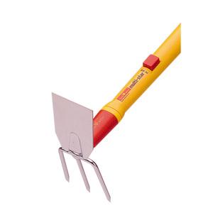 Serfouette à main coloris métal 8 cm 781967