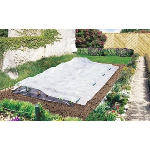 Voile de croissance coloris blanc 2x10 m 784623