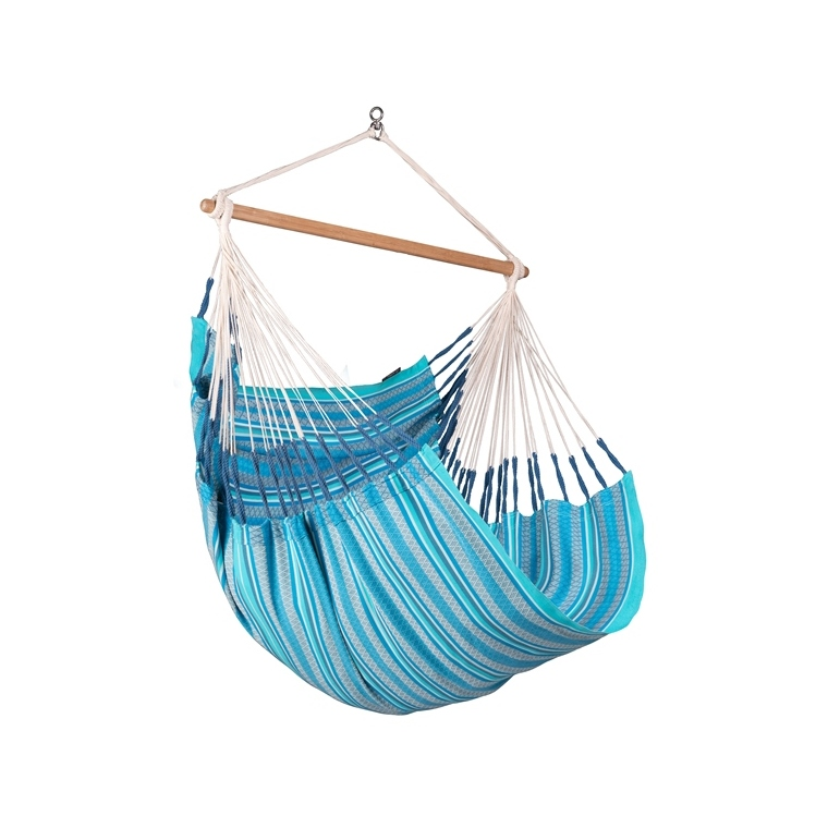Chaise hamac comfort bio bleue 180 x 115 x 160 cm 700499