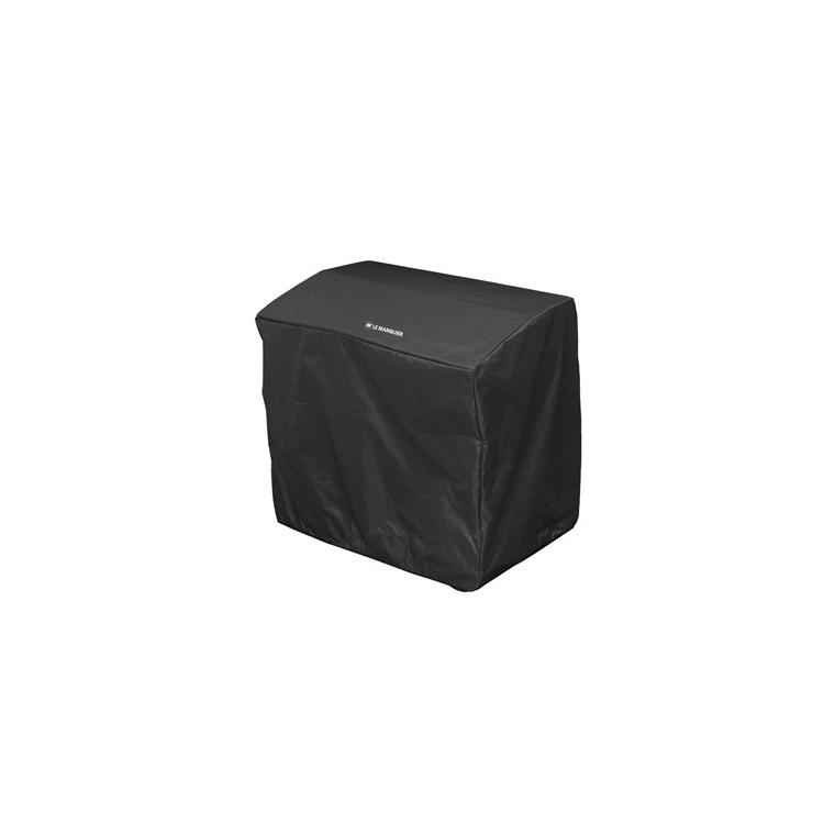 Housse noire pour appareil de la plancha française 55 x 40 x 85 cm 700519