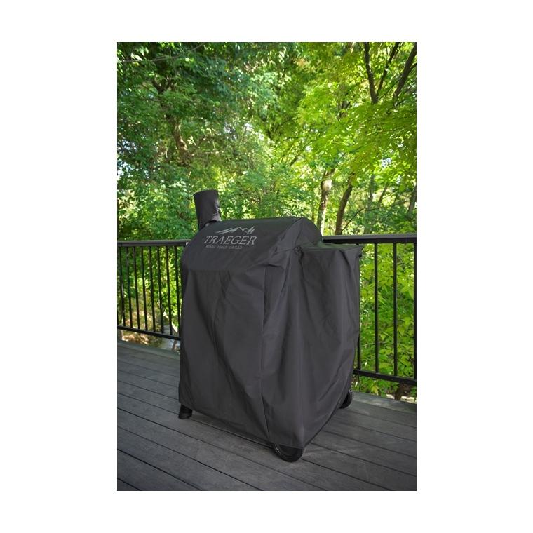 Housse pro 575 noire pour barbecue à pellets 104 x 69 x 135 cm 700522