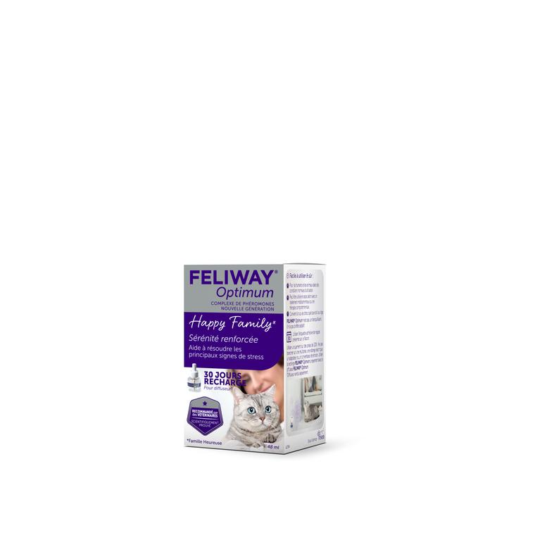 Feliway Optimum recharge de 48 ml 700906