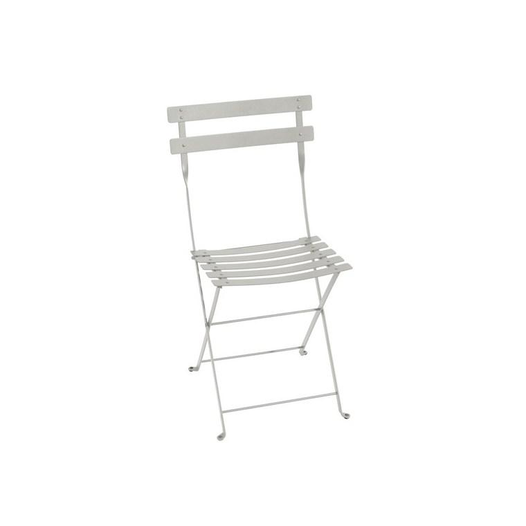 Chaise pliante Bistro gris argile 38 x 40 x 82 cm 702348