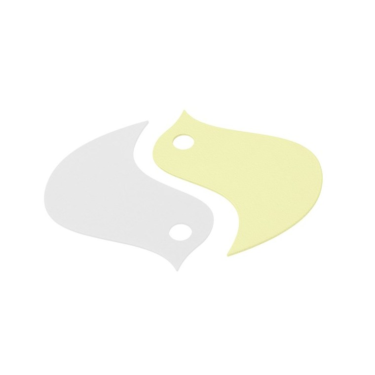 Dessous de plat oiseau jaune 18,6 x 16,8 cm 702364