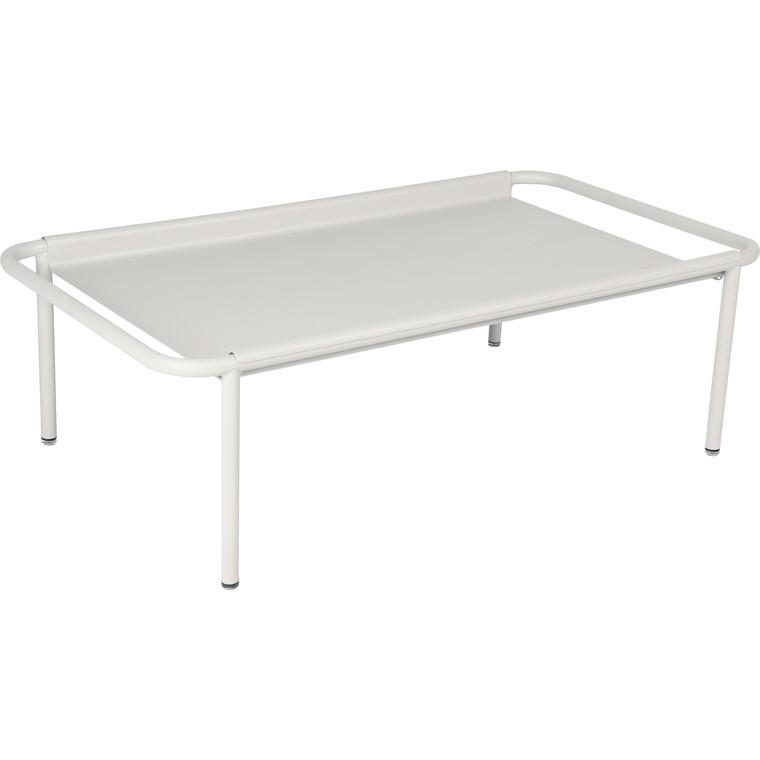 Table basse Coolside gris argile 115 x 63 x 36 cm 702384