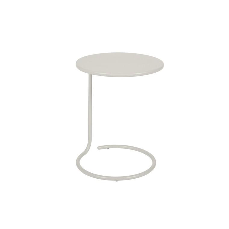 Table basse déportée Coolside gris argile Ø 42 x 53 cm 702385